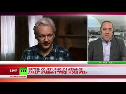 'Completely political': Assange loses bid to have his UK arrest warrant dropped