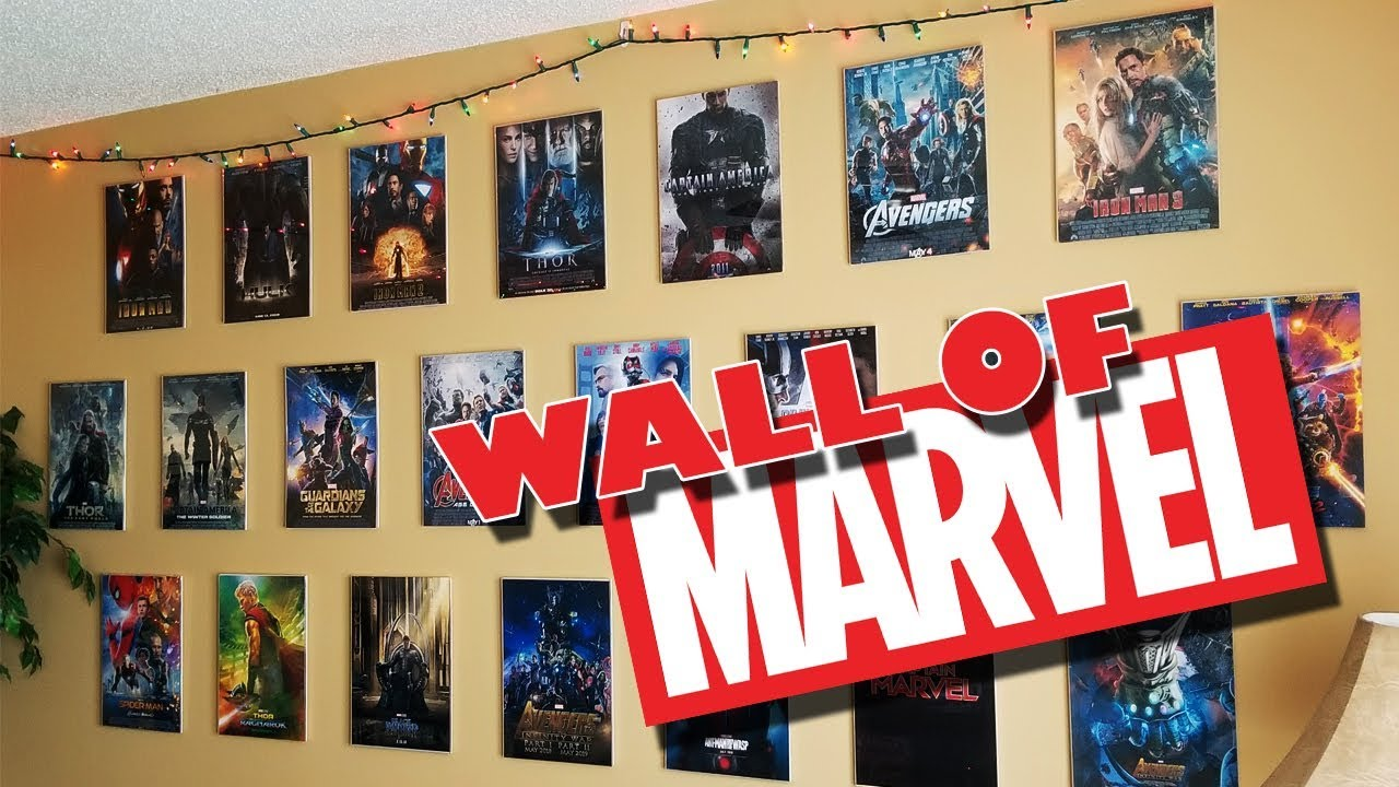 Wall Of Marvel Home Decor Project