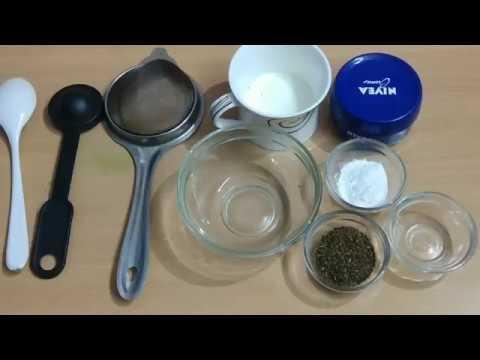 Anti-ageing Cream /Rice flour, Green tea ,milk mixture
