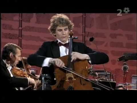 Andreas Brantelid plays Haydn in the final of the Eurovision Competition in Vienna 2006