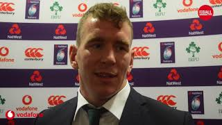 Chris Farrell on wearing 13 for Ireland