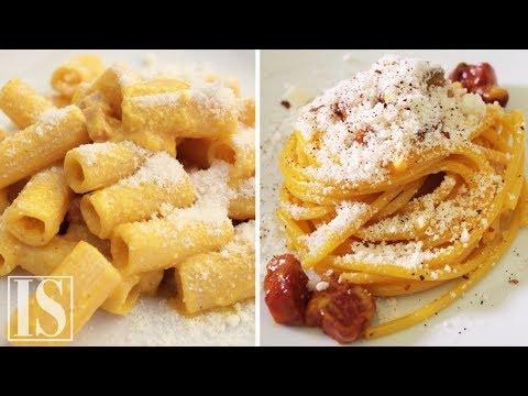 Carbonara: 3 recipes by Roman chefs Luciano Monosilio, Flavio De Maio e Marco Martini