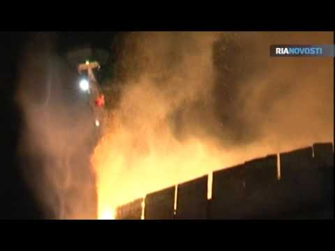 Fire at Russia's Tallest Building