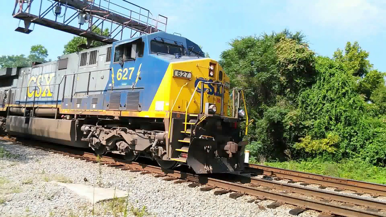 [MUST SEE] Tribute to the CSX GE AC6000CW(CW60AC-H)