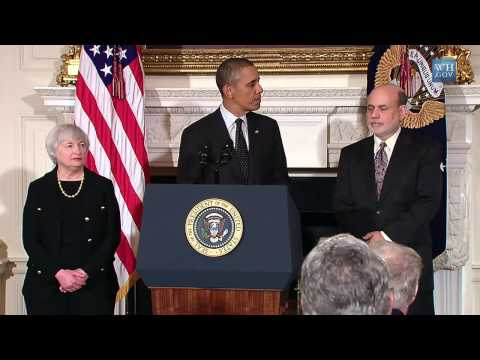 President Barack Obama Nominates Dr Janet Yellen as Federal Reserve Chair