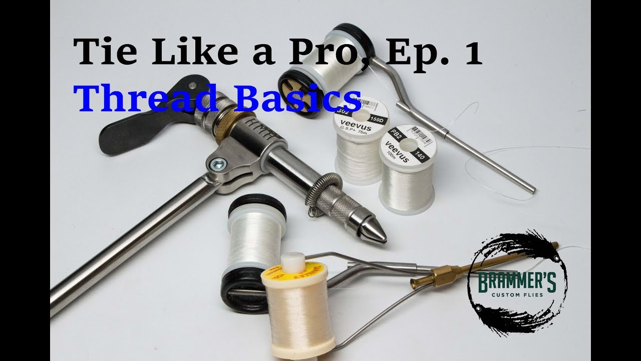 Tie like a pro ep 1 thread basics youtube tie like a pro ep 1 thread basics ccuart Images