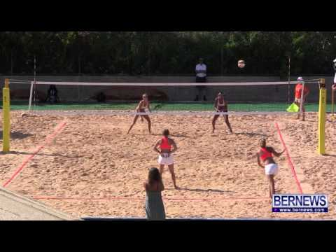 Cayman vs Gotland Womens Beach Volleyball, July 15 2013