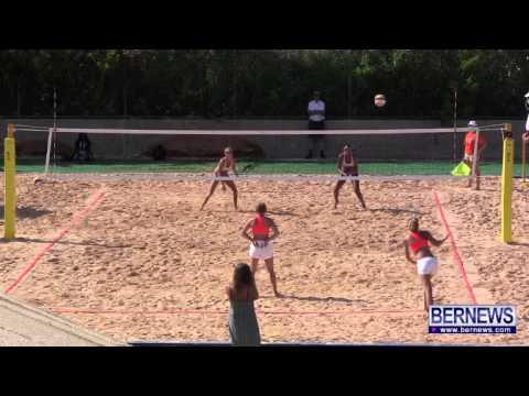 Cayman vs Gotland Womens Beach Volleyball, July 15 2013