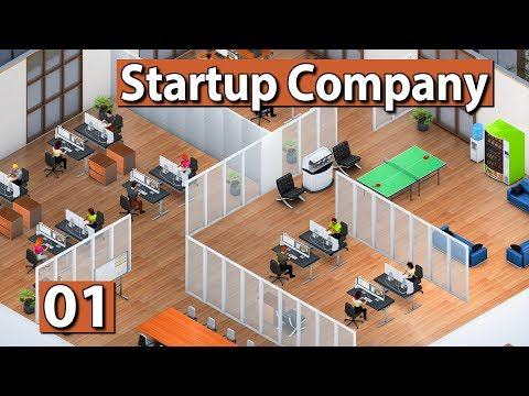 Mein eigenes Startup! ► Startup Company Gameplay deutsch #01