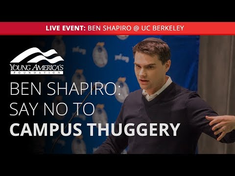 Ben Shapiro LIVE at UC Berkeley (Lecture starts at 29:08)