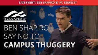 Ben Shapiro LIVE at UC Berkeley (Lecture starts at 29:08)