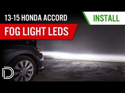 How to Install 2013-2015 Honda Accord Fog Lights | Diode Dynamics