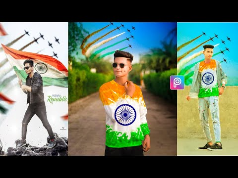 Republic Day Photo Editing|26 January Photo Editing|Indian Flag Photo Editing PicsArt 2021|India