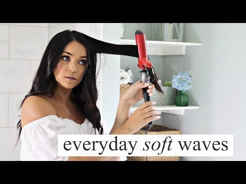 SOFT WAVES HAIR TUTORIAL | Stephanie Ledda