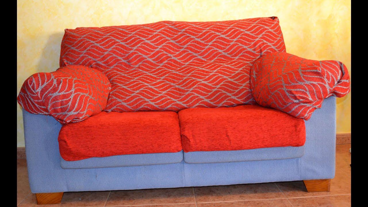 Fundas Para Un Sofa Cama Slide Out Bed Australia Paso A Asientos Extensibles Youtube
