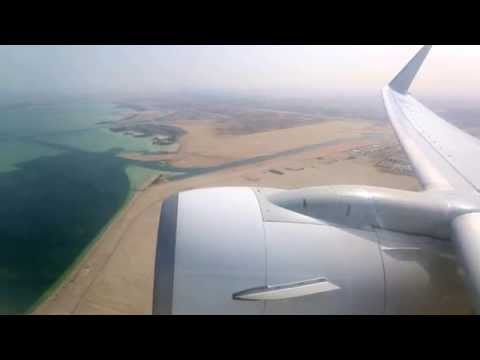Jet Airways - 9W585, VT-JGR, B737-800 Takeoff from Abu Dhabi International Airport
