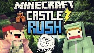 DAS GEHT ZU WEIT! - Minecraft CASTLE RUSH VS Rewi #04 | ungespielt