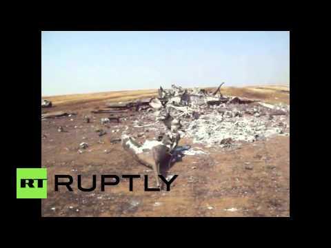 Ukraine: Military fighter jet shot down in Donetsk region