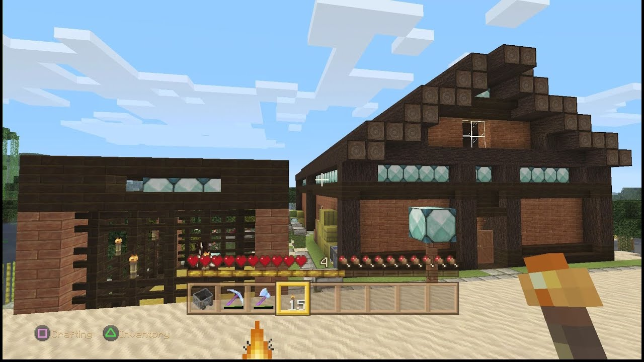 Wooden Minecraft Animal Barn - Year of Clean Water