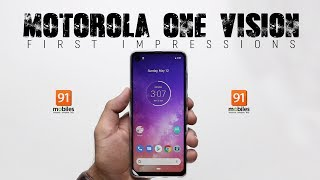 Motorola One Vision: Unboxing | Hands-on | Price [hindi-हिन्दी]