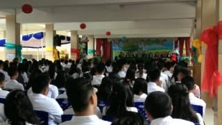 Kata Sambutan Siswa Pada Acara Graduation SMP Pax Christi Manado 2017