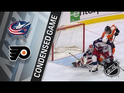 Columbus Blue Jackets vs Philadelphia Flyers – Feb. 22, 2018 | Game Highlights | NHL 2017/18. Обзор