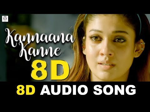 Kannaane Kanne 8D Audio Song   Naanum Rowdy Dhaan   Must Use Headphones   Tamil Beats 3D