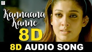 Kannaane Kanne 8D Audio Song | Naanum Rowdy Dhaan | Must Use Headphones | Tamil Beats 3D