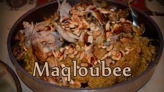 Arabisch kochen: Maqloubee- Reisgericht mit Gemüse und Fleisch