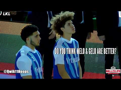 LiAngelo & LaMelo Ball Get the CROWD HYPED vs JUVENTUS in 3rd MENS LEAGUE GAME