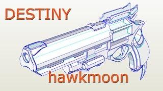 Destiny hawkmoon Papercraft