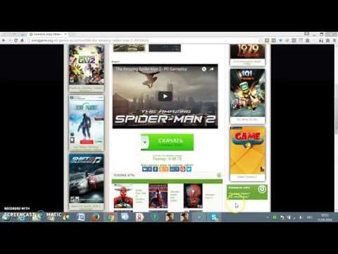 Как скачать игру человек паук 2? Ответ тут!!