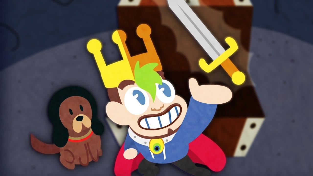Download Jacksepticeye Animated   KING JACK