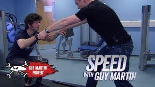 Guy trains with Sir Chris Hoy | Guy Martin Proper