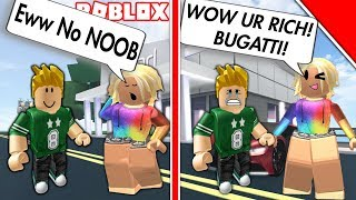 EXPOSED GOLD DIGGER IN ROBLOX! *BUGATTI* | Roblox Social Experiment