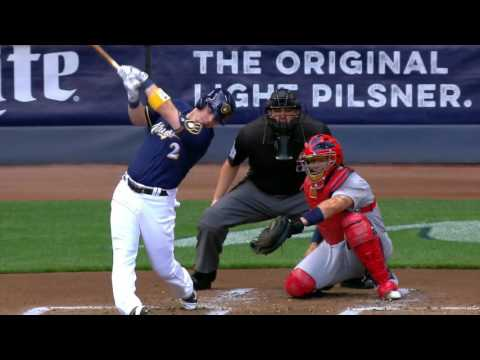 August 29, 2016-St.Louis Cardinals vs. Milwaukee Brewers
