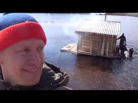 Тест драйв бани на реке! Дрифт на бане)