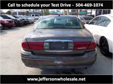 Used Cars Kenner >> 2003 Buick Lesabre Used Cars Kenner La