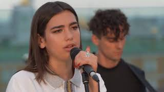 Download Dua Lipa - New Rules - Rooftop Acoustic Live Session Mp3