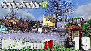 """Farming Simulator 17 Mini-Farm #19 - """"Pozamiatane, dalej nie pojedziemy, nowy nabytek!"""""""