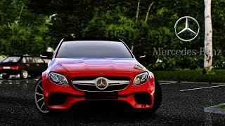 City Car Driving - Mercedes-Benz E63s AMG 2018 by Heisenberg | Custom Sound | 1080p & G27