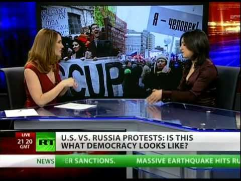 OWS vs Russian protests