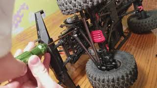 Scx10  2 kit how to convert  it  to full 4 link  front and back