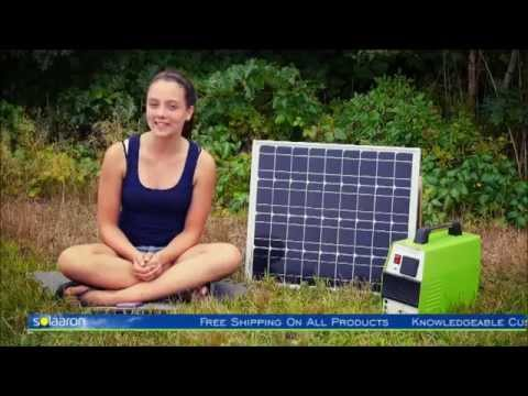 Camping With The Outback-Mate500 Solar Generator