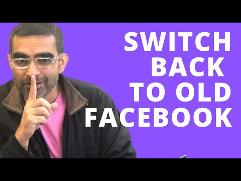 How To Switch Back To Classic Facebook Layout On Desktop (PC/MAC)