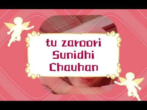 ( lirik lagu india & terjemahan ) tu zaroori  - Sunidhi Chauhan