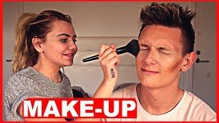 Fie Laursen Lægger Min Make Up!