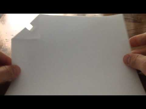 No Staple Paper Fastener