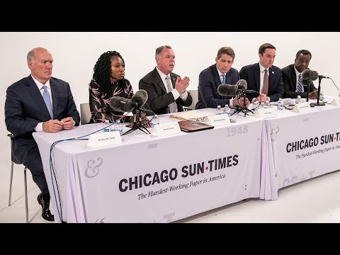 Sun-Times Editorial Board Endorsement Interviews: Morning Session