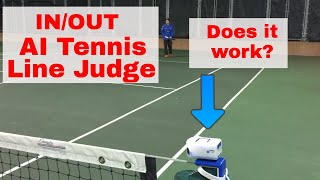 IN/OUT Tennis Line Judge Hands on Review